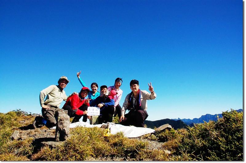 大雪山山頂 1