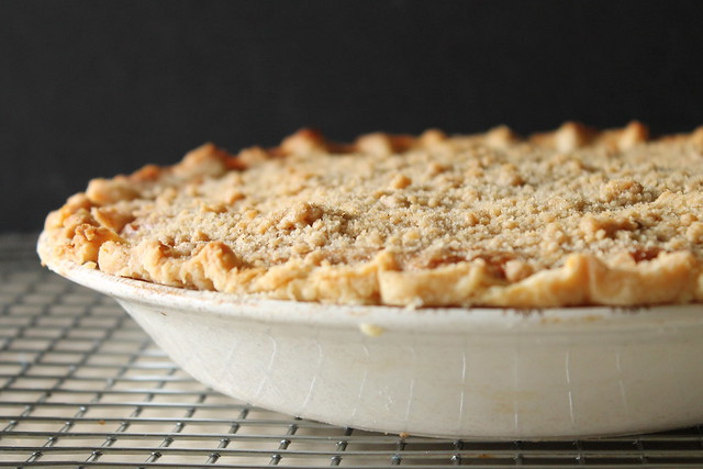10936676965 4d669ffd0d z Streusel Topped Sweet Potato Pie