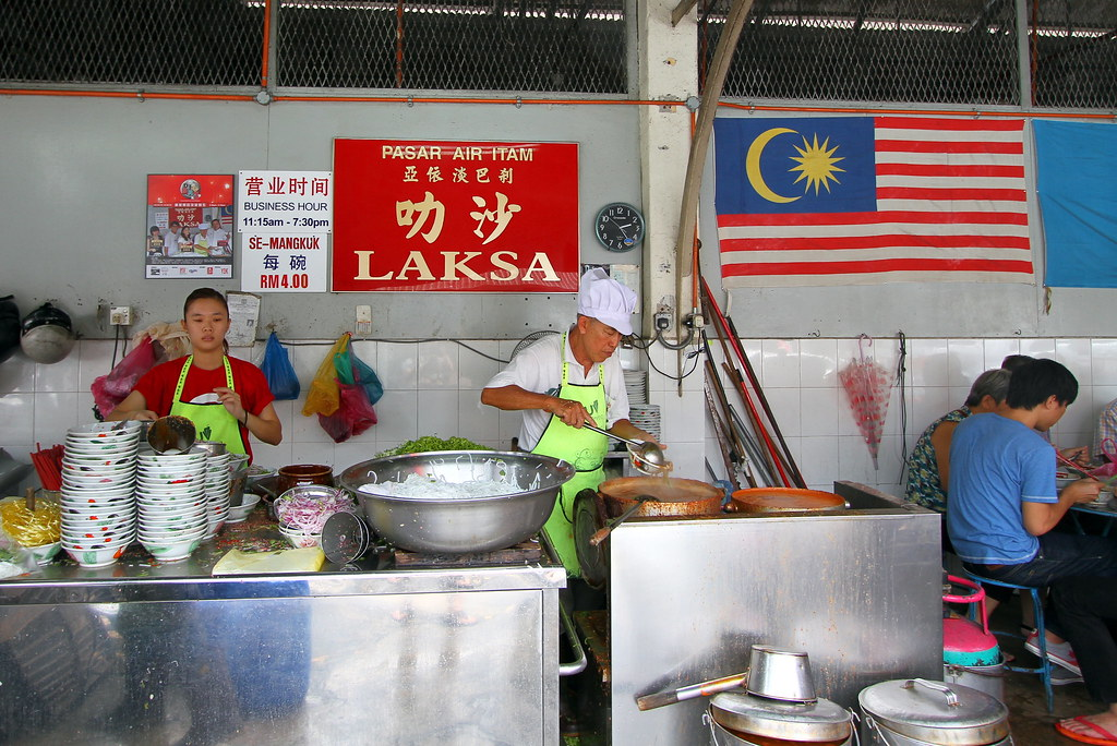 Penang Food Guide: Asam Laksa at Air Itam Store Front