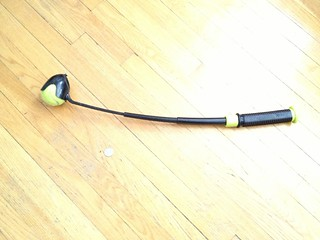 HyperPet Hyper Fling Collapsible Tennis Ball Launcher