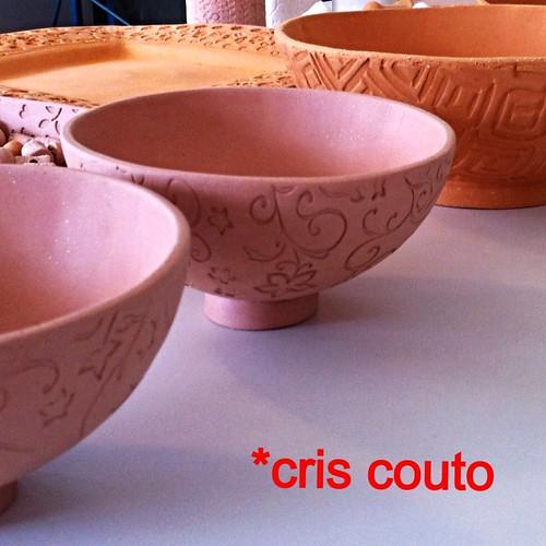 Minhas tigelas... by cris couto 73