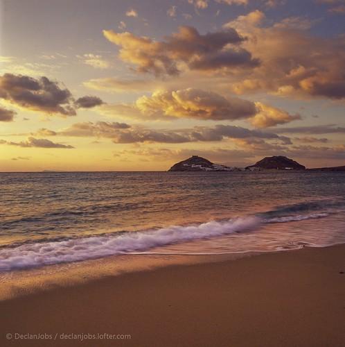 旅游 风光 日出 摄影 云彩 色彩 希腊 胶片