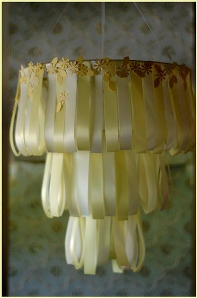 DIY Multi tiered chandelier