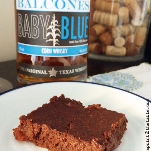 balcones whiskey bacon brownies