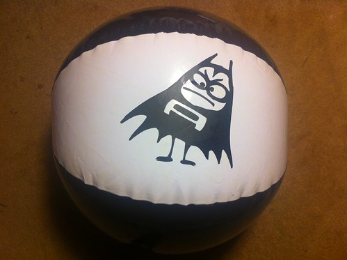 The Aquabats beach ball