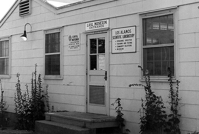 Los Alamos Scientific Laboratory Museum circa 1963.
