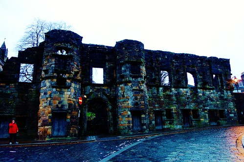 Mar's Wark, Castle Wynd, Stirling, Scotland