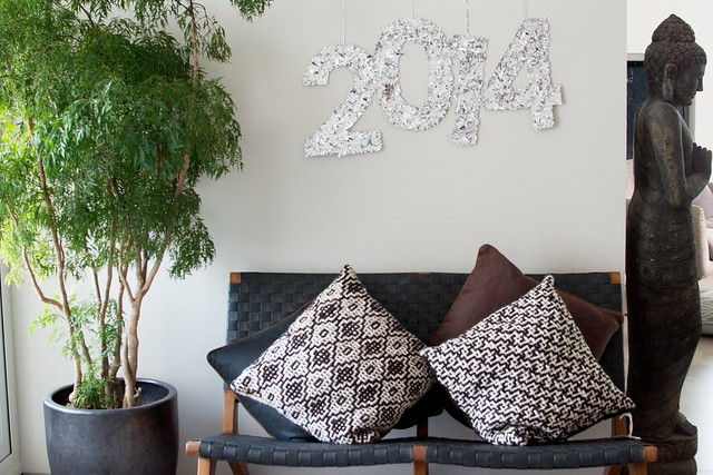 DIY CONFETTI NYE DECOR