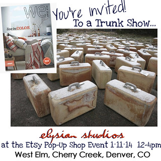Elysian Studios Pop Up Shop Invite | by elysianstudiosart