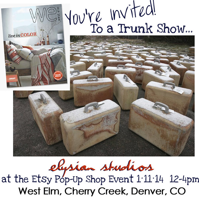 Elysian Studios Pop Up Shop Invite