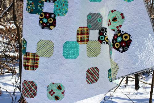 Nordika Polar Vortex Quilt Tutorial - In Color Order