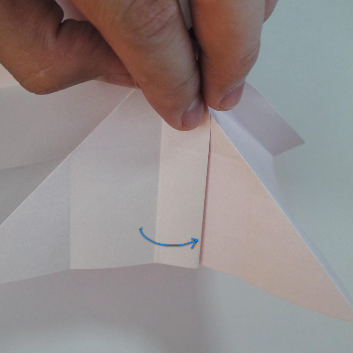 วิธีพับกระดาษพับดอกกุหลาบ 018