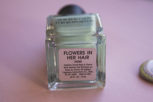 10 Deborah Lippmann Flowers In Her Hair swatches