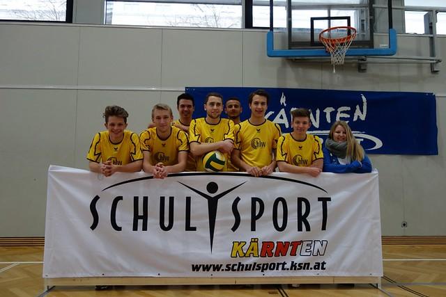 Volleyball Landesmeisterdritte 2014