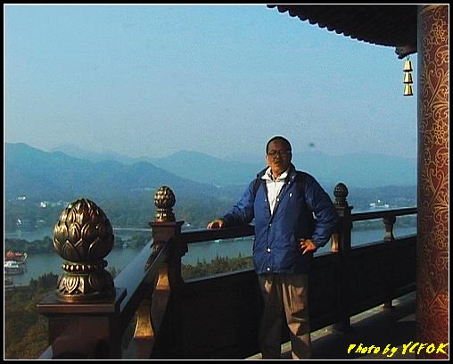 杭州 西湖 (其他景點) - 354 (西湖十景之 雷峰塔上背景是蘇堤與花港觀魚方向)