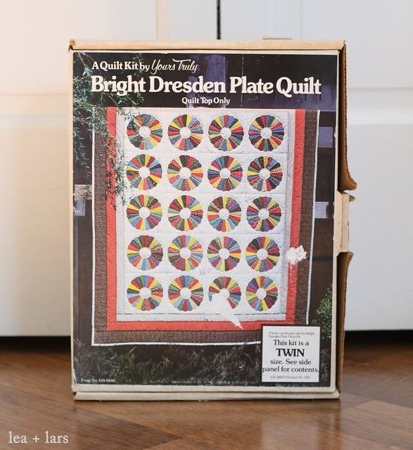 vintage quilt kit