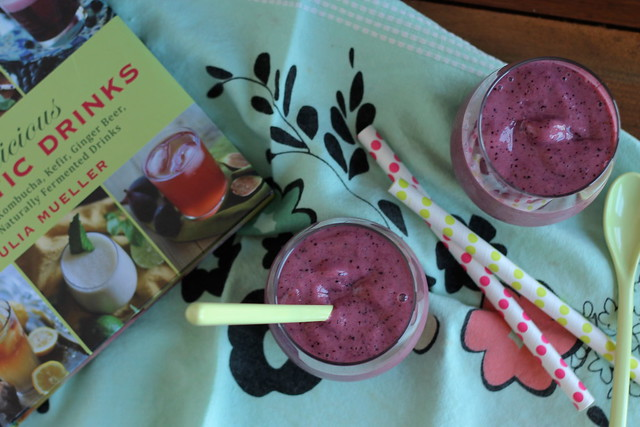 Blueberry Mango Smoothie and Delicious Probiotic Drinks Giveaway