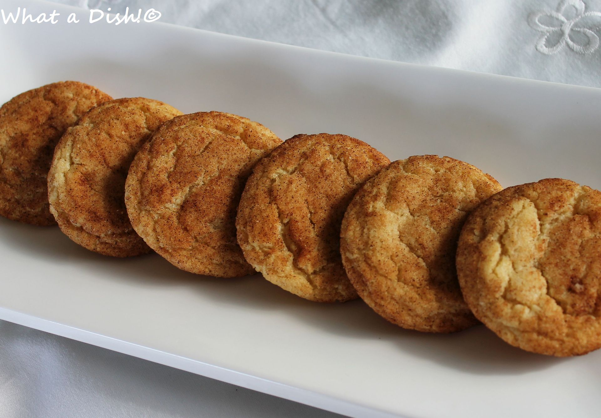 Snickerdoodles (No Cream of Tartar)