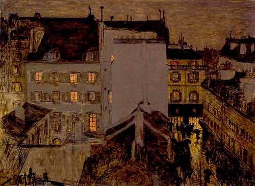 Pierre Bonnard Montmartre in the rain 1887