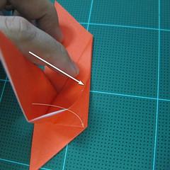 การพับกระดาษเป็นนกพิราบ (Origami pigeon) 00018
