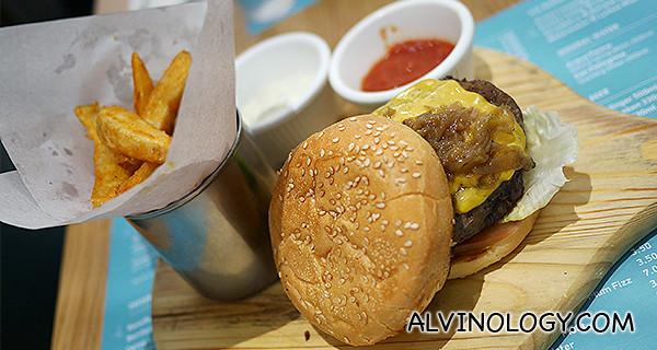 Signature Delicious burger