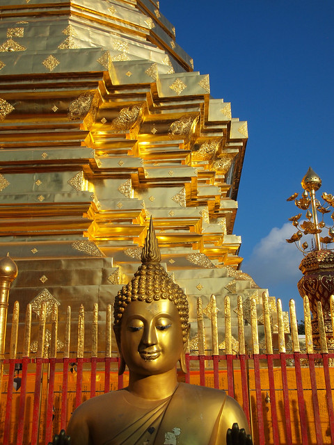 Wat Prah That Doi Suthep in Chiang Mai, Thailand