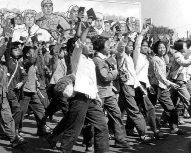 Red Guards, early Communist China