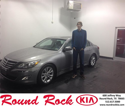 Thank you to Bradley Mccoy on your new 2012 #Hyundai #Genesis from Andi Wilson and everyone at Round Rock Kia! #NewCar by RoundRockKia