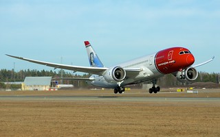 EI-LNA Norwegian Long Haul Boeing 787-8 Dreamliner