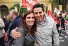 Con Laura Segura, compañera!
