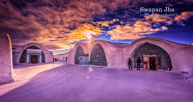 ICE Hotel Sunrise, Sweden