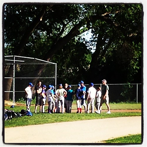 Baseball practice during spring break #spring #sacramentowaldorfschool #sixthgrade #11yearold