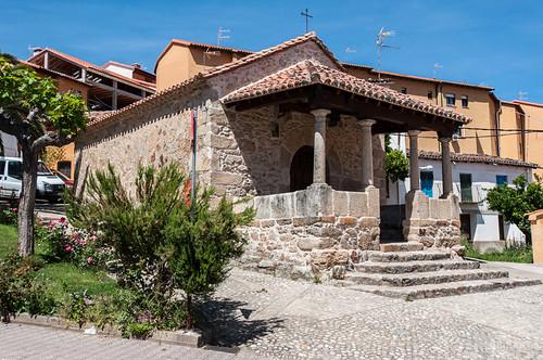La ermita de San Antón en Villanueva de la Vera