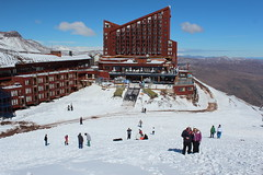 Try skiing at Valle Nevado - Things to do in Santiago