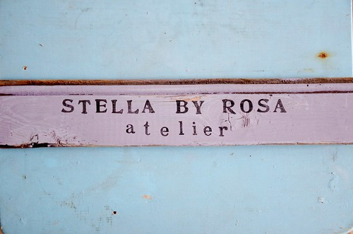 wood & word sign [stella by rosa]