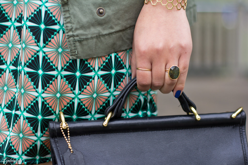 geo floral dress, green jacket-3.jpg