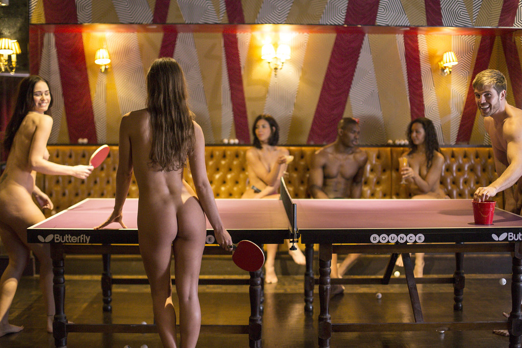 Image result for naked table tennis