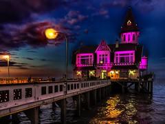 Noche y río