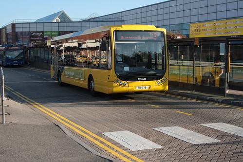16 Yellow Buses