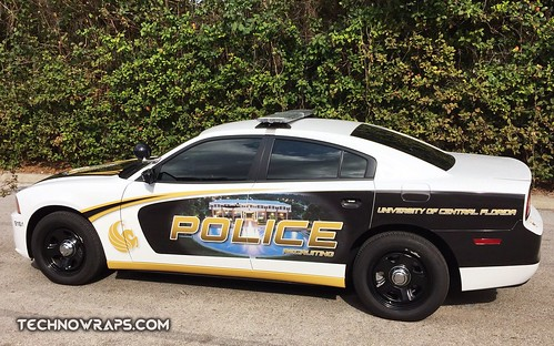 Police vehicle graphics wrap