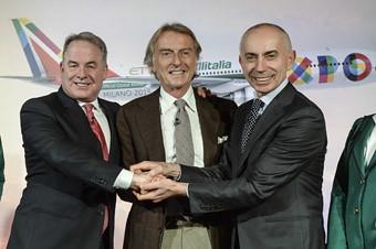 Conferenza stampa Etihad Alitalia