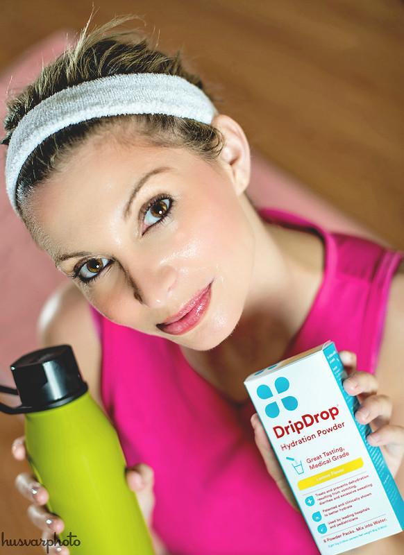 #DrinkDripDrop #DripDropHydrates bikram yoga hydration
