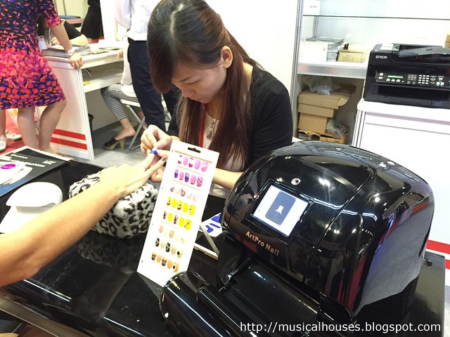 Beauty Asia 2015 ArtPro Nail Printer