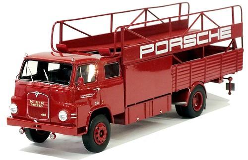 Schuco MAN 415 squadra corse Porsche