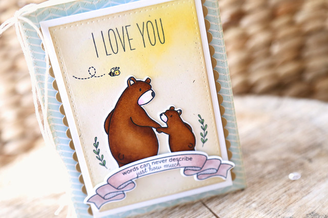 bear hugs! {mama elephant stamp highlight}