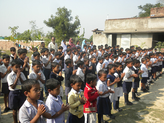 Ismail Israfil Free primary school at North-East Thakurchak Village of South 24 Parganas.
