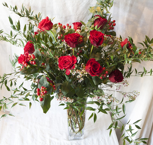 Classic Long Stem 1 Dozen Red Roses, or 2 or 3!  $195. per dozen