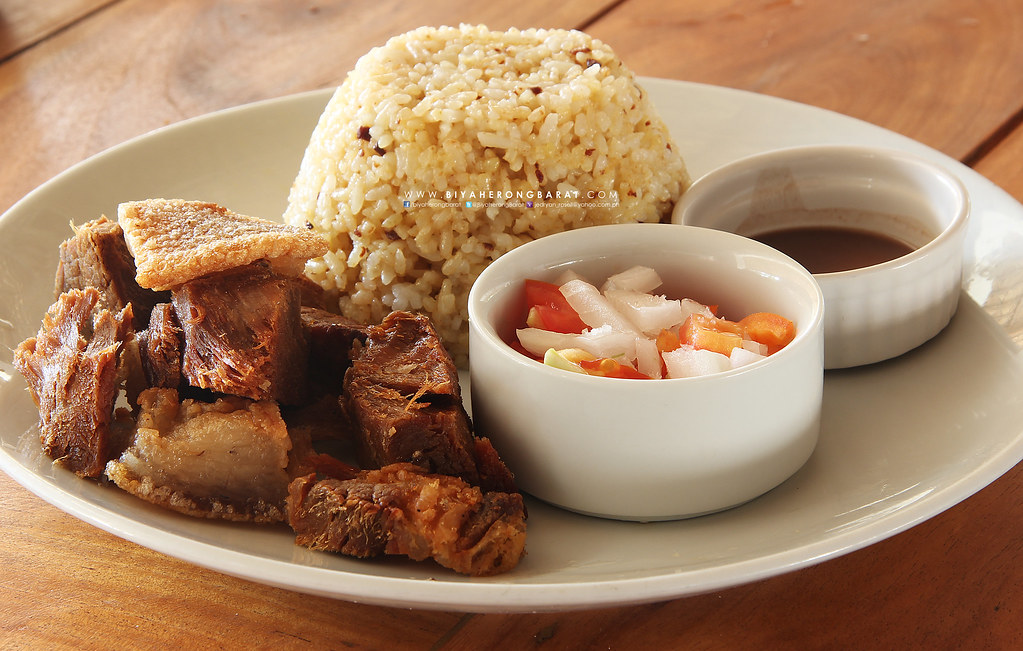 ilokano dish bagnet with kbl ilocos norte kingfisher pagudpud