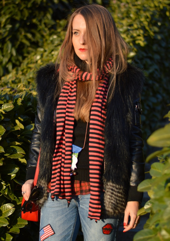 rock, l'heartelier, gucci, disco bag, wildflower girl, Dr. Martens, look, fashion blog (14)