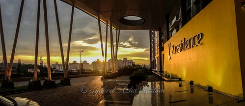travel light sunset panorama detail building architecture clouds colorful apartment cloudy details naturallight panoramic lobby condo malaysia handheld dramaticsky residential iphone iphone5 syahrel